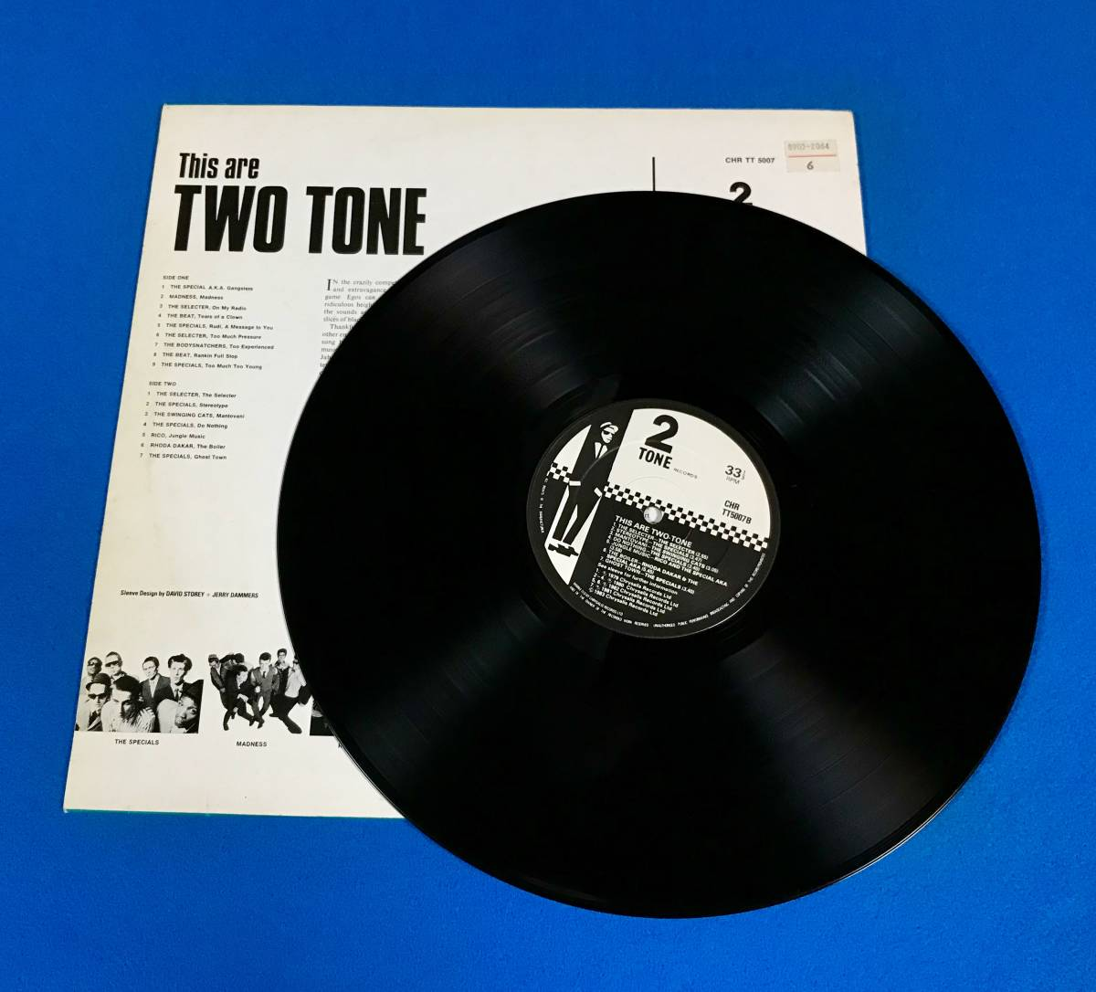 【SKA】【REGGAE】V.A.//THIS ARE TWO TONE//THE SPECIALS//MADNESS//THE SELECTER//RICO//CHRTT5007//VINYL LP/UK_画像5