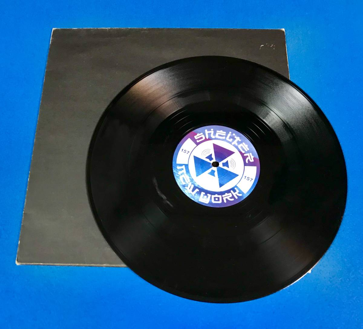【HOUSE】JAVEMEYER//AGUA//SHELTER RECORDS//SHL-1045//TIMMY REGISFORD//12INCH VINYL/US/LOFT/GARAGE_画像3