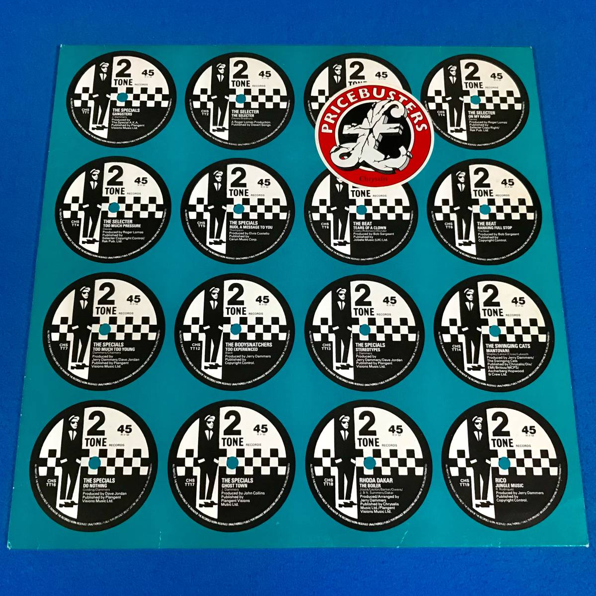 【SKA】【REGGAE】V.A.//THIS ARE TWO TONE//THE SPECIALS//MADNESS//THE SELECTER//RICO//CHRTT5007//VINYL LP/UK