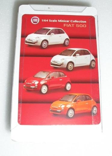 1/64 京商 フィアット Fiat 500 レッド ミニカーコレクション 未使用_画像7
