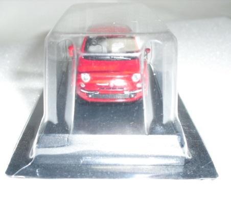1/64 京商 フィアット Fiat 500 レッド ミニカーコレクション 未使用_画像6