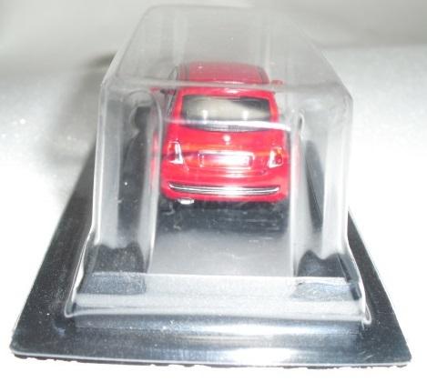 1/64 京商 フィアット Fiat 500 レッド ミニカーコレクション 未使用_画像4