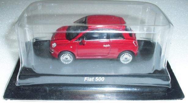 1/64 京商 フィアット Fiat 500 レッド ミニカーコレクション 未使用_出品物です
