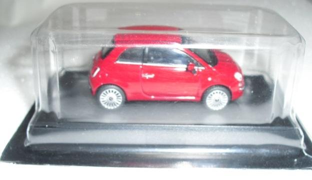 1/64 京商 フィアット Fiat 500 レッド ミニカーコレクション 未使用_画像5