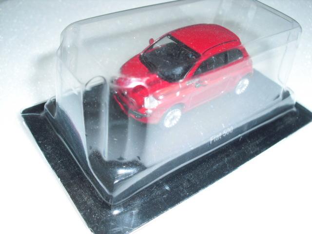 1/64 京商 フィアット Fiat 500 レッド ミニカーコレクション 未使用_画像3