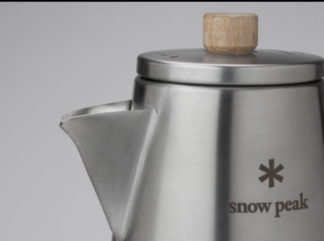 スノーピーク フィールドバリスタ ケトル CS-115 新品箱付き snow peak コーヒー ランドロック エルフィールド_画像3