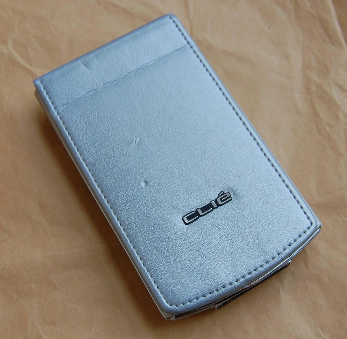 【美品】SONY CLIE PalmOS 4.1搭載PDA PEG-N750C 外観良好 現状渡し 送料210円~_画像3