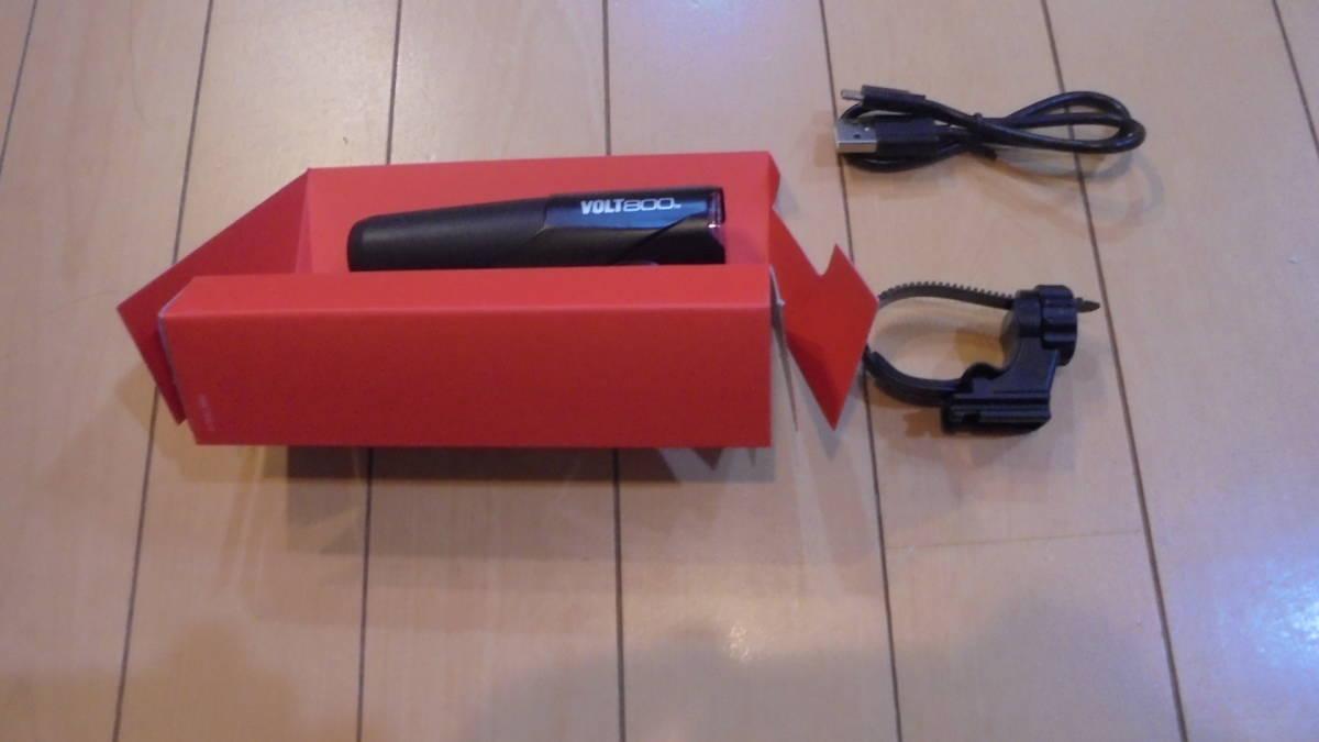 キャットアイ(CAT EYE) LEDヘッドライト VOLT800 HL-EL471RC USB充電式 新品_画像2