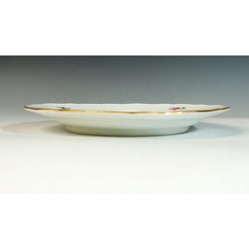 Meissen(マイセン) ベーシックフラワー 6つ花 円皿/プレート 九客(25.1cm)_画像8
