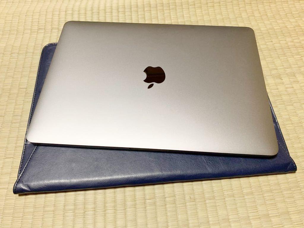 【美品】Macbook pro 2018 13インチ TouchBar搭載モデル AppleCare残2年以上 i5/256GB/8GB【送料無料】レザーケース付き_画像10