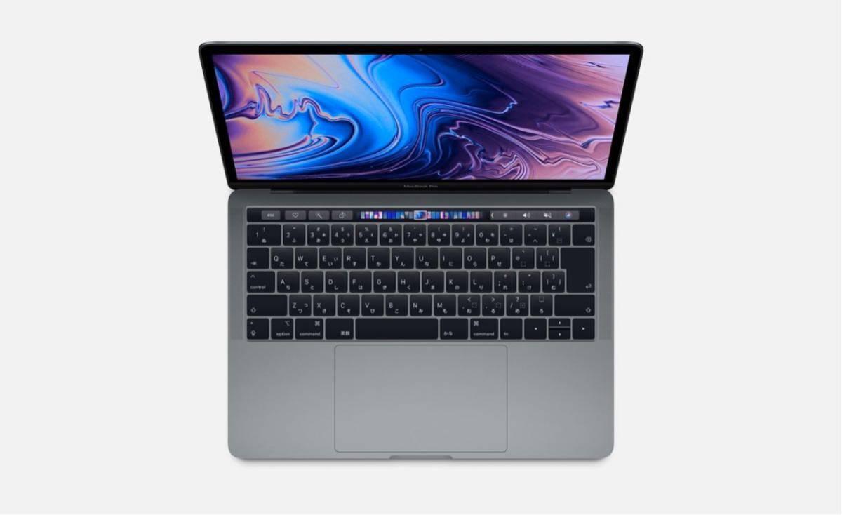 【美品】Macbook pro 2018 13インチ TouchBar搭載モデル AppleCare残2年以上 i5/256GB/8GB【送料無料】レザーケース付き_画像3