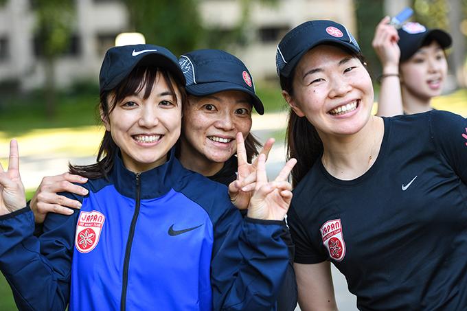 【選手支給】2017-18 アイスホッケー女子 日本代表 スマイルジャパンSmile Japan NIKEナイキ トレーニングジャージ上下/五輪オリンピック_画像7