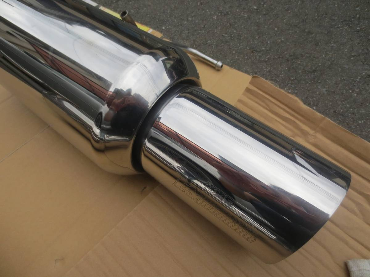 スバル BP5 レガシィワゴン ターボより取り外し HKS ES Premium ステンレスマフラー テール径115mm 左右セット 検)BP5/BP9/BPE_画像10