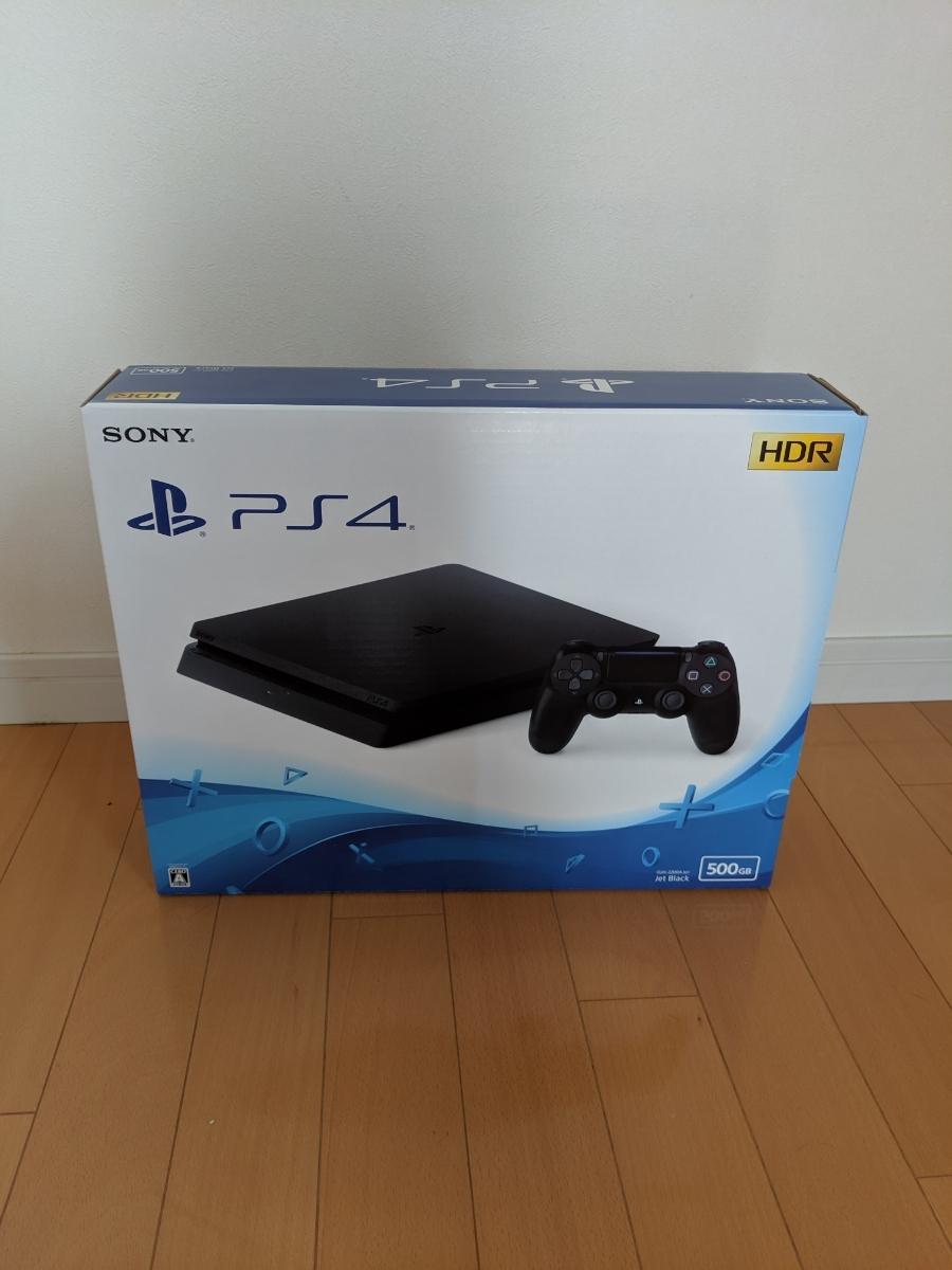 新品未開封 SONY PlayStation4 ジェット・ブラック 500GB CUH-2200AB01 新品未使用 プレステ4