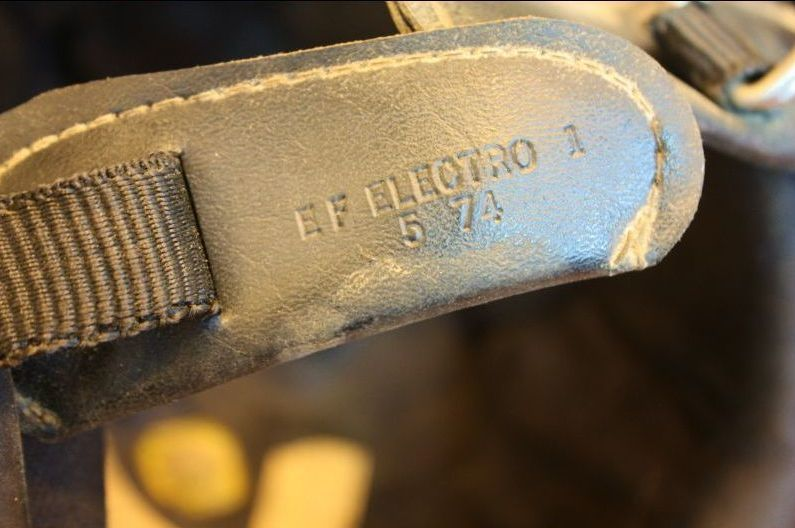 ビンテージ ヘルメット ELECTRO HELMETS 当時物 ラメ パネルデザイン 検索 / BUCO BATES_画像8