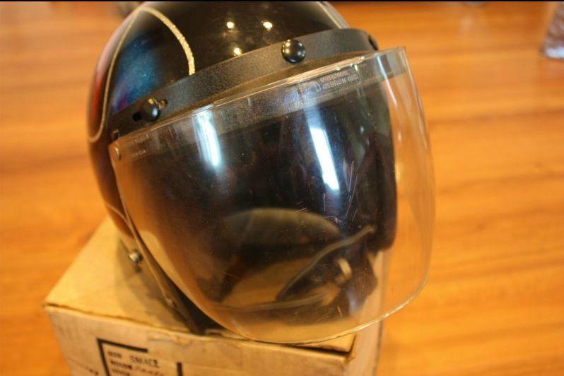 ビンテージ ヘルメット ELECTRO HELMETS 当時物 ラメ パネルデザイン 検索 / BUCO BATES_画像5