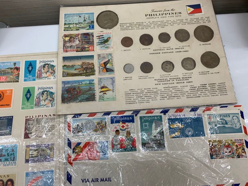G 1円スタート 外国硬貨 未選別 大量おまとめ 外国銭 外国切手 セット アンティーク コレクション_画像5