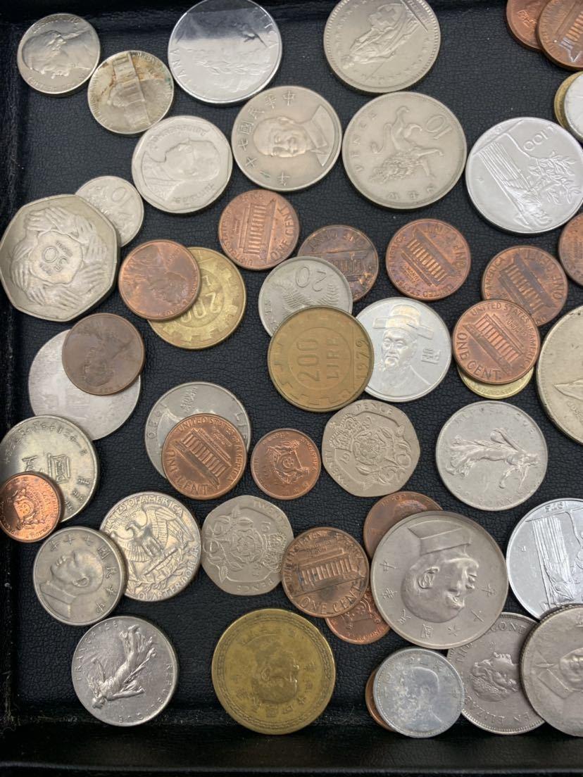 G 1円スタート 外国硬貨 未選別 大量おまとめ 外国銭 外国切手 セット アンティーク コレクション_画像2
