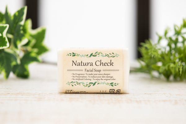 天然肌ケアセット Natura Check(ナチュラチェック)洗顔せっけん・敏感肌用化粧水(高保湿)乾燥肌ケアにおすすめ_画像4