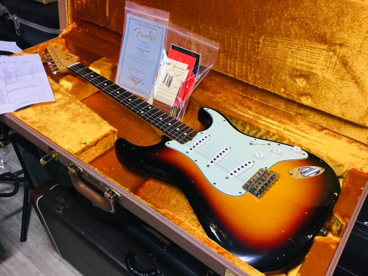 Fender Custom Shop MBS 1961 Stratocaster Relic Dennis Galuszka 巨匠マスタービルダー デニス ガルスカ_画像1