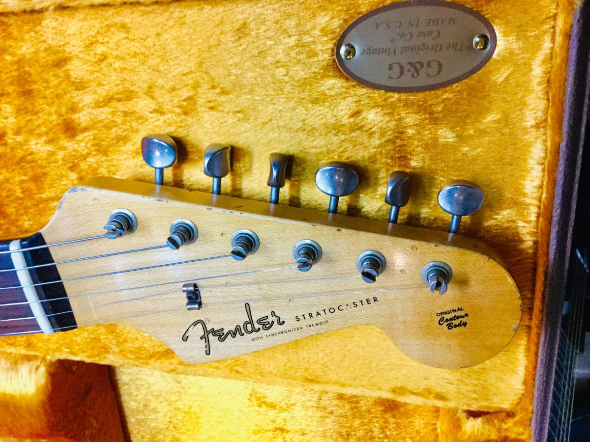 Fender Custom Shop MBS 1961 Stratocaster Relic Dennis Galuszka 巨匠マスタービルダー デニス ガルスカ_画像3