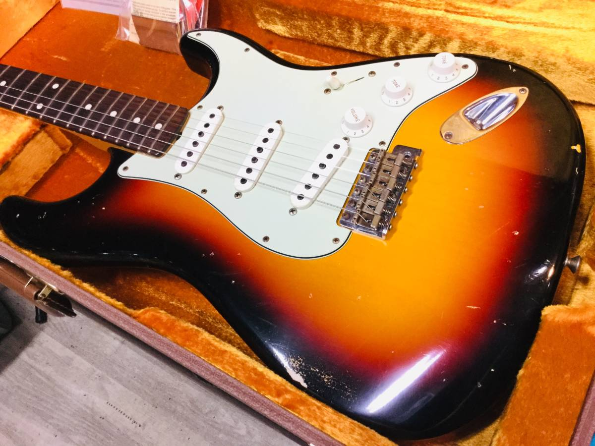 Fender Custom Shop MBS 1961 Stratocaster Relic Dennis Galuszka 巨匠マスタービルダー デニス ガルスカ_画像4