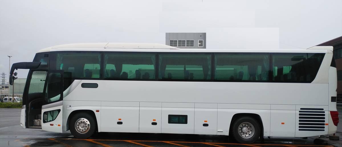 H20 いすゞ ガーラ Jバス 高速路線 スーパーハイデッカー トイレ 仮眠室 固定窓 事業用 検査満タン_画像4