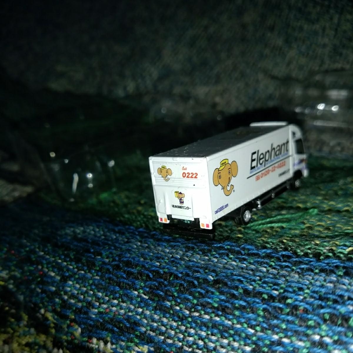バンダイワーキングビーグル第3弾 引越中型トラック編 日野レンジャー 松本引越センター_画像8