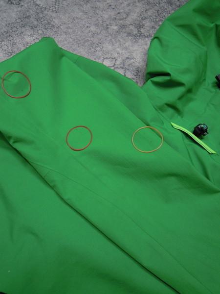 Haglofs BARA JACKET●メンズSサイズ(実寸M程度)/グリーン/緑/バラジャケット/防水マウンテンパーカー/ホグロフス/アウトドア/登山_画像10