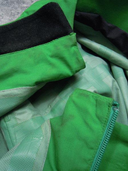 Haglofs BARA JACKET●メンズSサイズ(実寸M程度)/グリーン/緑/バラジャケット/防水マウンテンパーカー/ホグロフス/アウトドア/登山_画像9