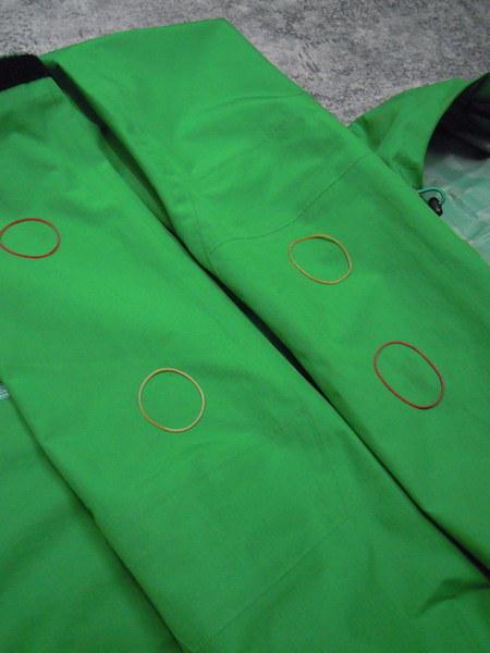 Haglofs BARA JACKET●メンズSサイズ(実寸M程度)/グリーン/緑/バラジャケット/防水マウンテンパーカー/ホグロフス/アウトドア/登山_画像8