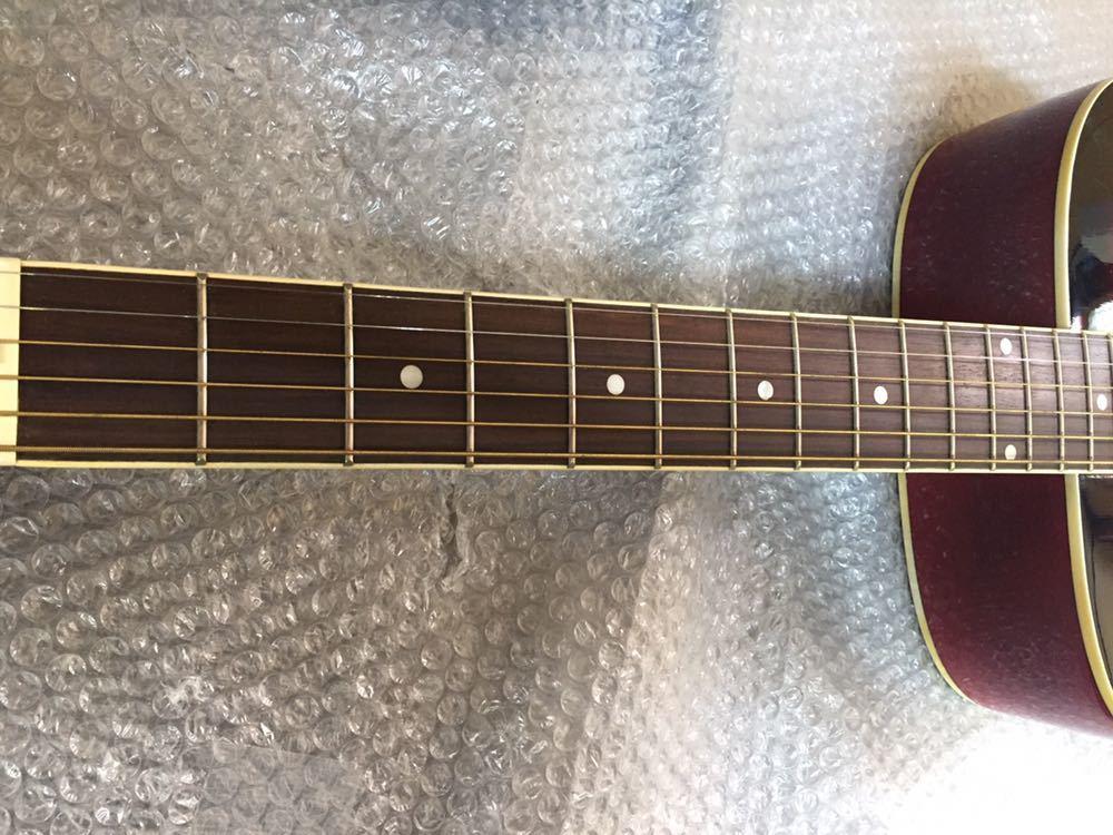 ◯ 美品 アコースティックギター Sepia Crue セピアクルー F-130/RDS ケース付き_画像7