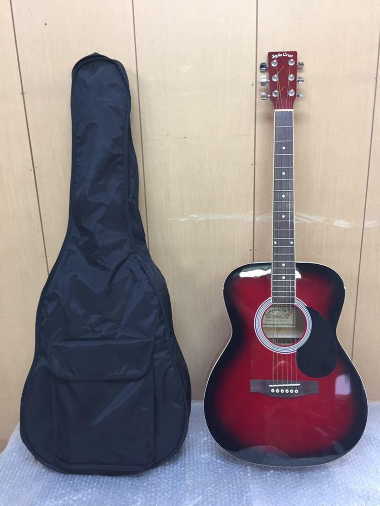 ◯ 美品 アコースティックギター Sepia Crue セピアクルー F-130/RDS ケース付き