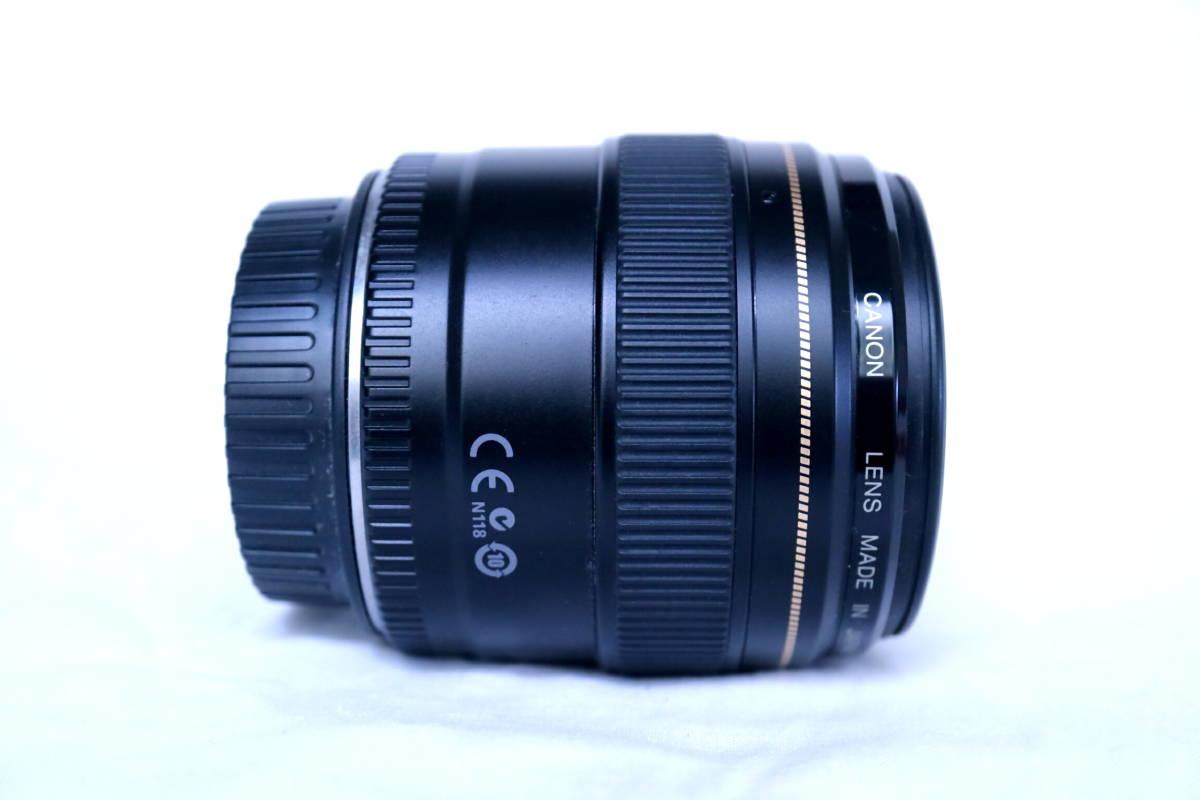 Canon EF85mm f1.8 USM 【極美品】ワンオーナー品 フルサイズ対応 高性能単焦点レンズ キヤノン_画像4