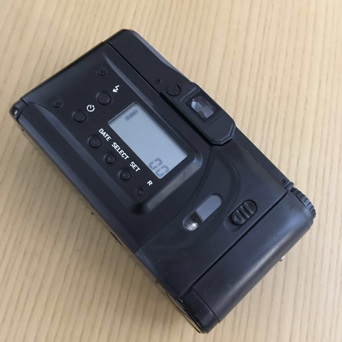 Contax TVS Ⅲ ブラック(Carl Zeiss Vario Sonnar 30-60mm f3.7-6.7) T vs 3 動作写りOK 概ねキレイ ストラップ2種 革ケース 説明書 内外箱_画像7