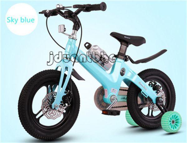 自転車子供 補助輪付き 組み立て式 12-18インチ サイズ選択可 jup92