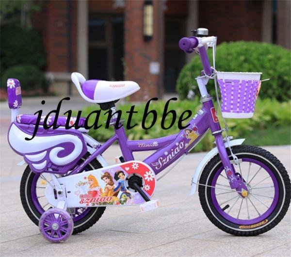 子供用自転車 補助輪付き 12-18インチ サイズ選択可jup63_画像3