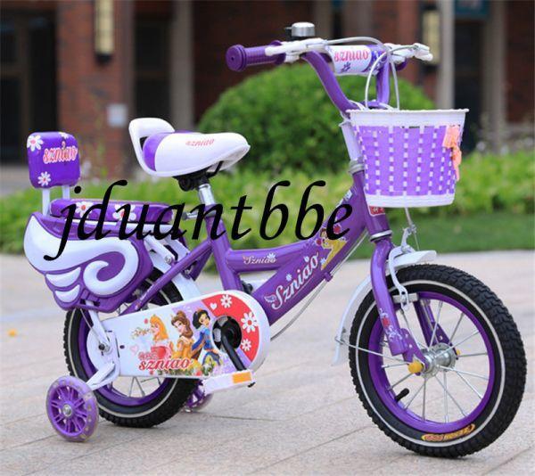 子供用自転車 補助輪付き 12-18インチ サイズ選択可jup63_画像4
