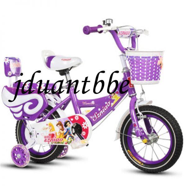 子供用自転車 補助輪付き 12-18インチ サイズ選択可jup63_画像2