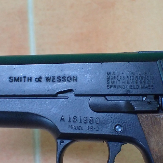 ◆マルシン スミス&ウェッソン M39 9mmオート ABSサテンフィニッシュ PFC-BLK Marushin SMITH&WESSON 未検品【GM【U1046_画像3