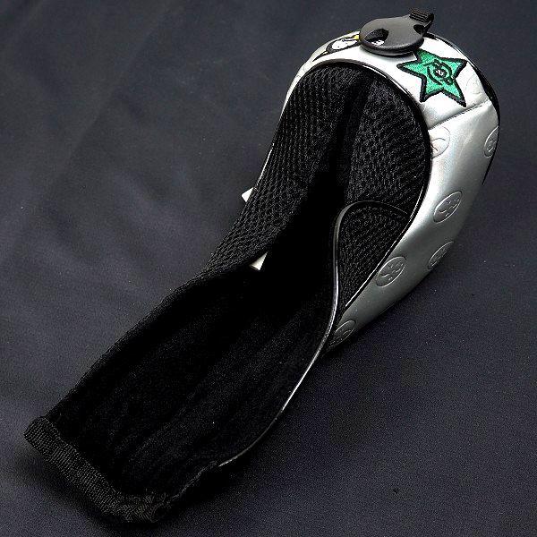 新品 CASTELBAJAC カステルバジャック ゴルフ ヘッドカバー セット フェアウェイウッド ユーティリティ フリーサイズ シルバー B986_画像4