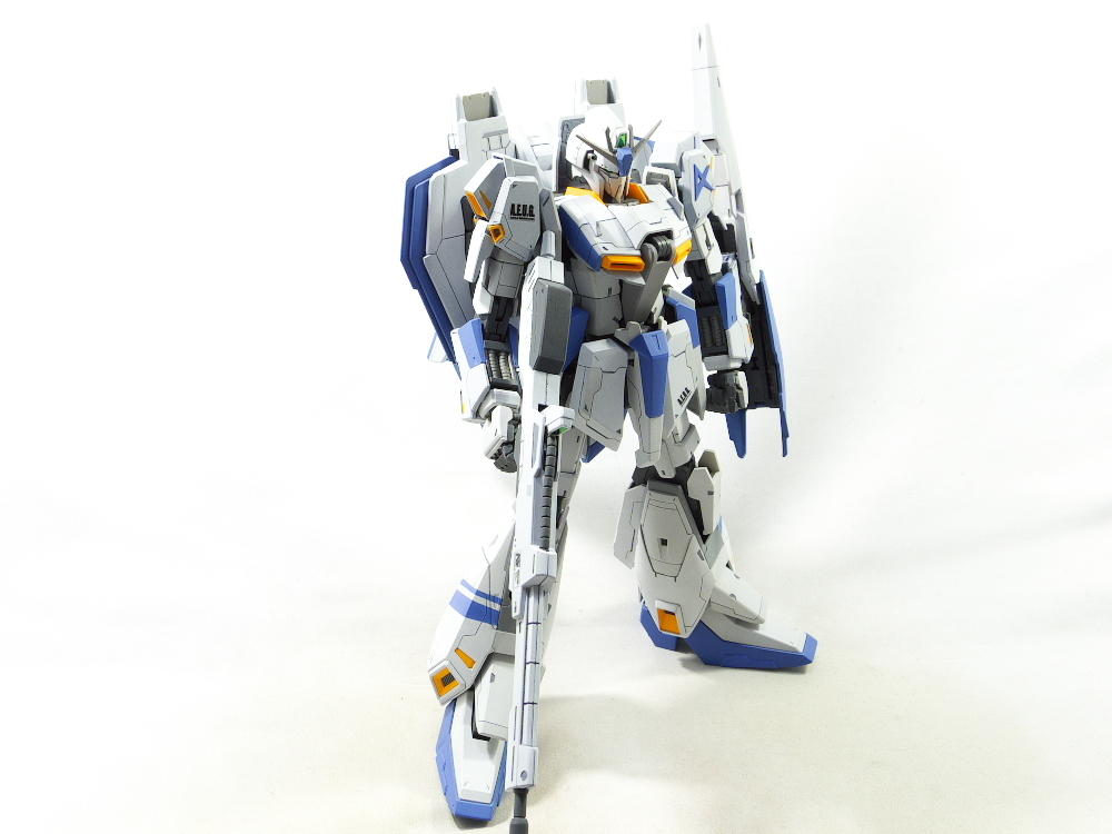 MG Zガンダムver.2.0 改修塗装完成品_画像5