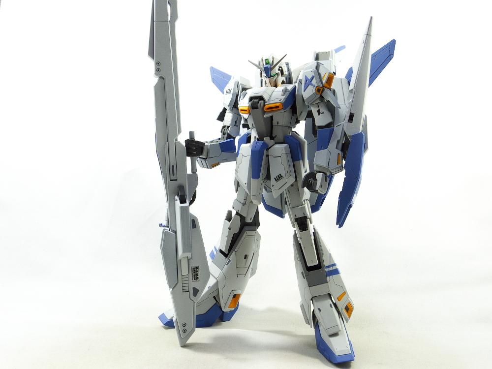MG Zガンダムver.2.0 改修塗装完成品_画像6