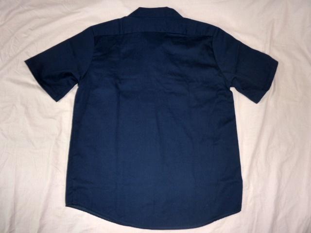 レッドキャップ/RED KAP クライスラー 半袖ワークシャツ 紺 XL_画像4