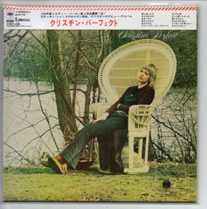 クリスティン・パーフェクト 紙ジャケCD【 Christine Perfects 】Chicken Shack~Fleetwood Mac