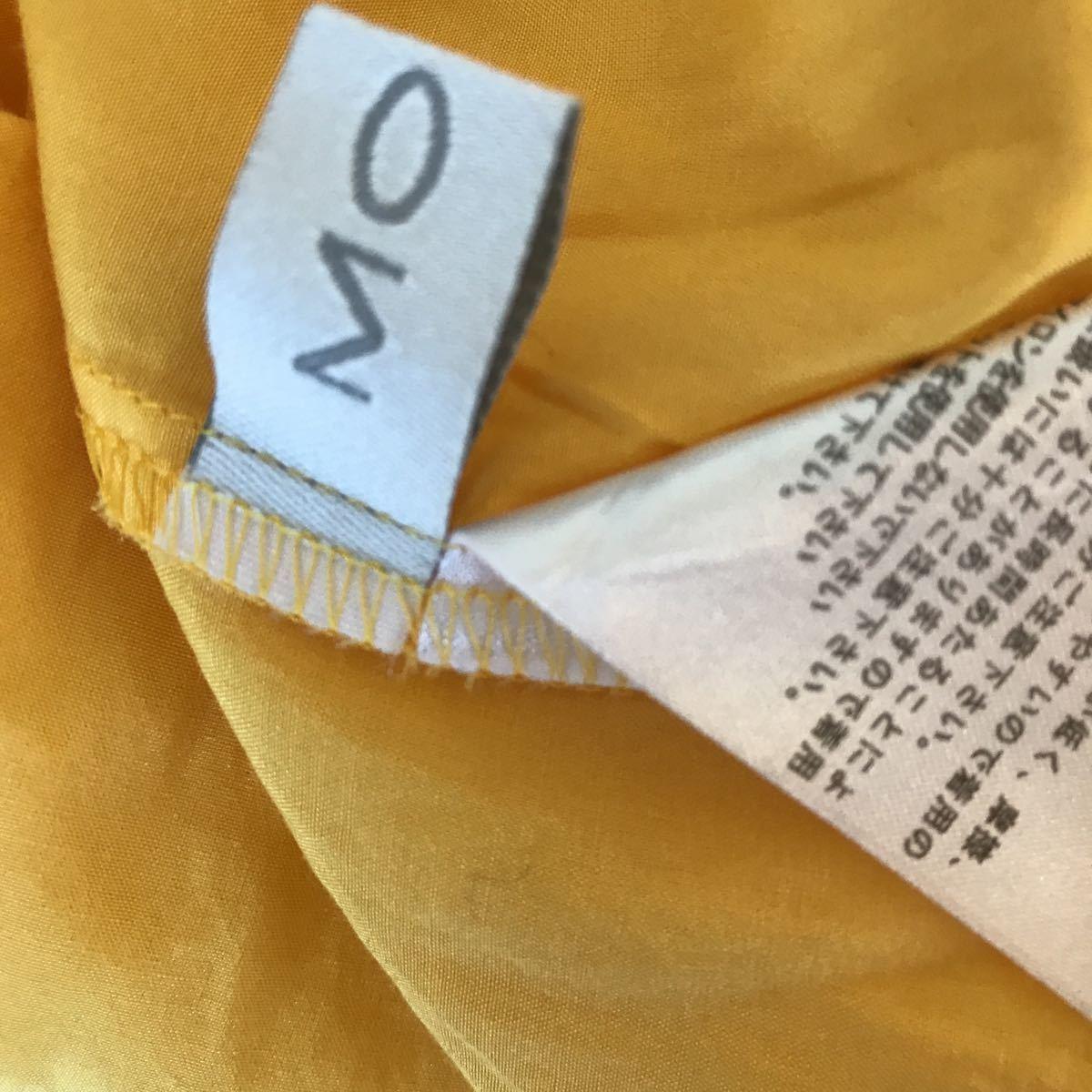 【高級モガ、90%オフ】(株)ビギ、高級ブランド、シルクコットン上質素材、着映えするきれい色♪ブラウス、シャツ、リッチカジュアルにも_画像4
