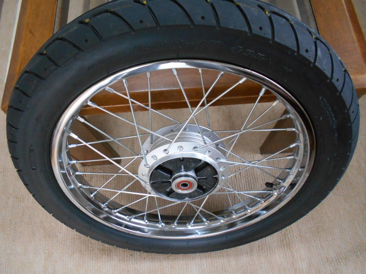 新車より1か月タイヤを変え200km走行。