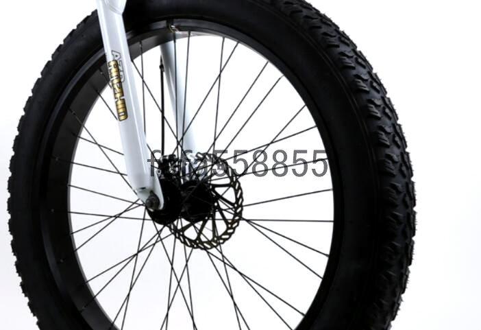 新品 折りたたみ 26インチ 21段変速 自転車 前後ディスクブレーキ マウンテンバイク ファットバイク ビーチ アシスト ロード クロス バイク_画像7