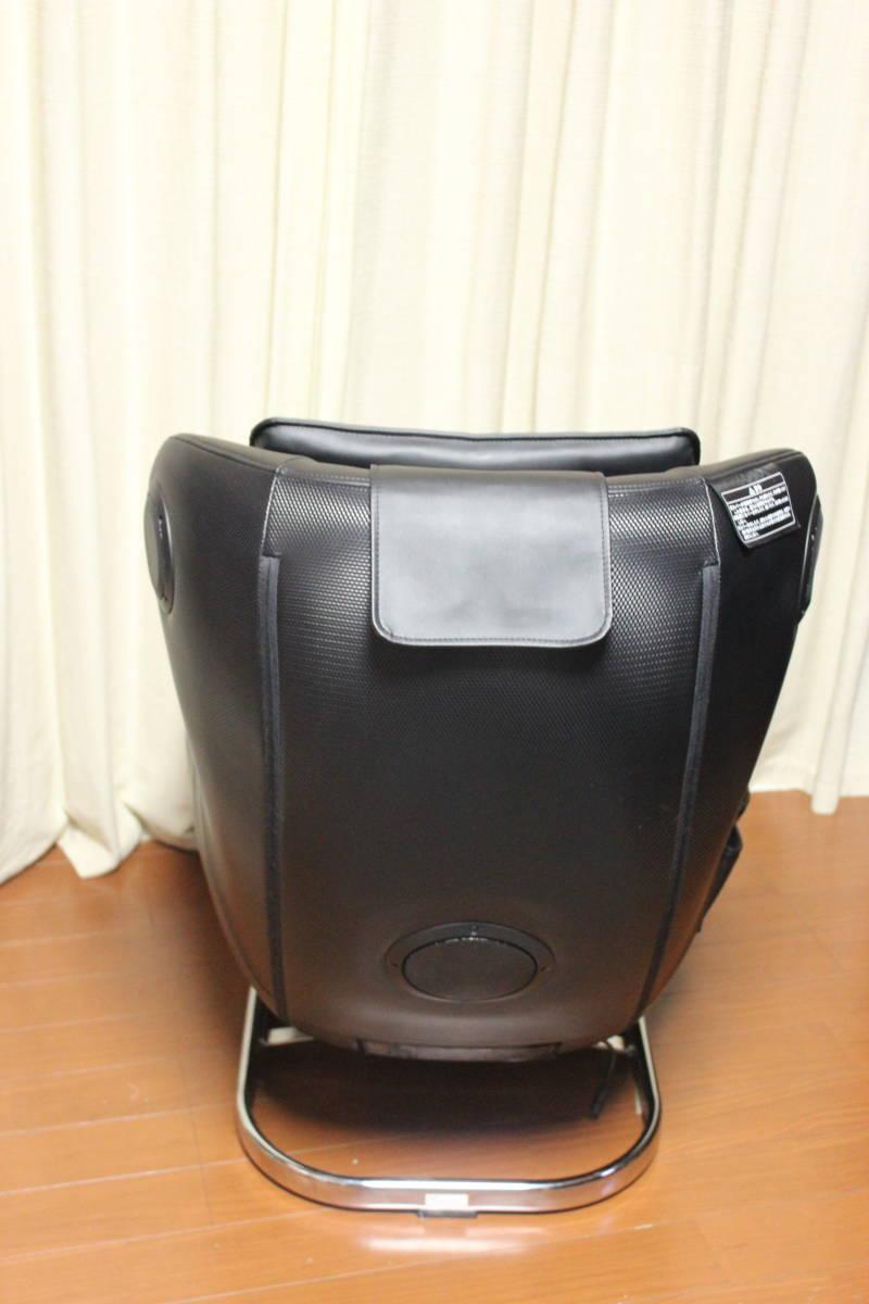 ★フジ医療器 ロースタイルマッサージチェアH AS-LS1 BK (ブラック) 美品★_画像3