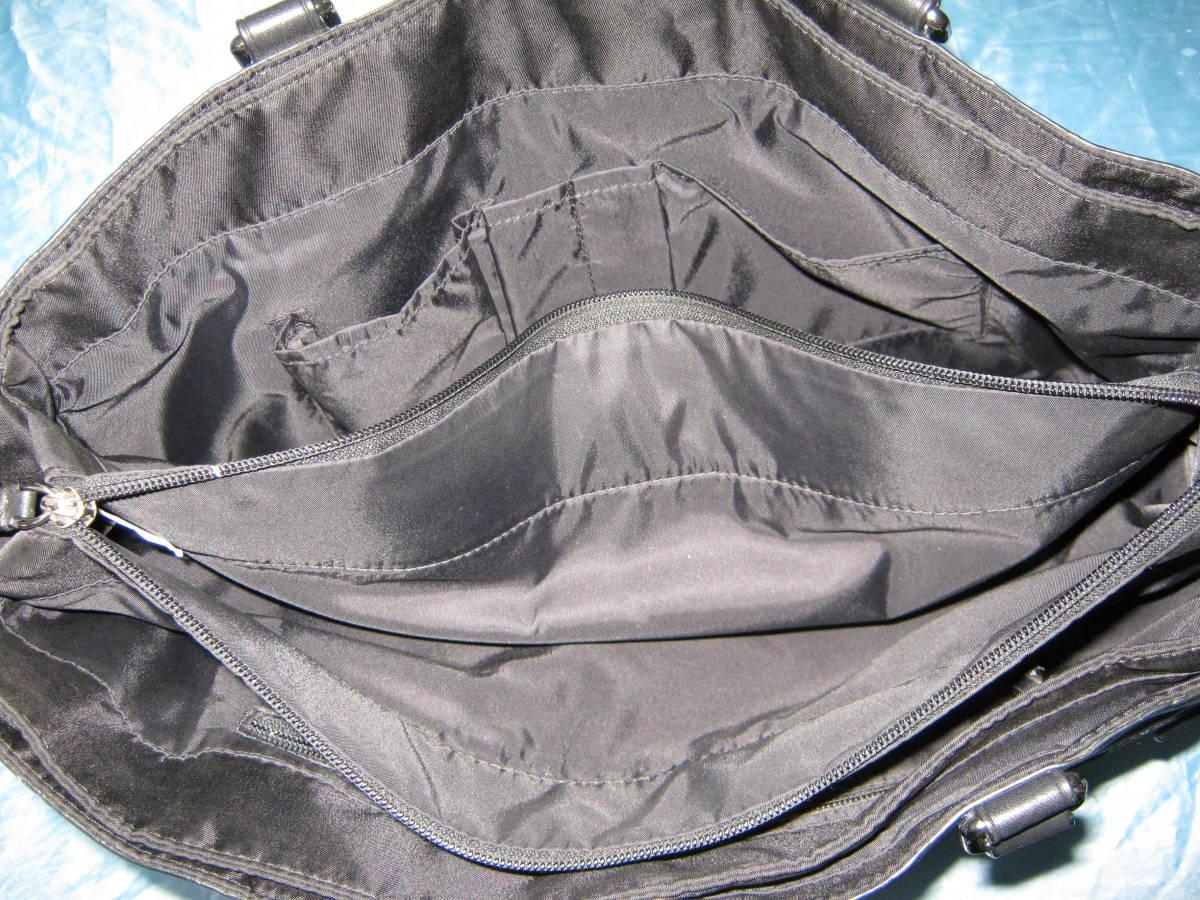 レア出品!美品!超ポケット多! TUMI トゥミ 黒 ビジネスバッグ ブリーフケース A4入ります 肩にも手にも持てる便利設計_画像4